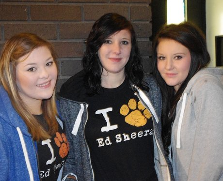 Ed Sheeran Fans In Birmingham