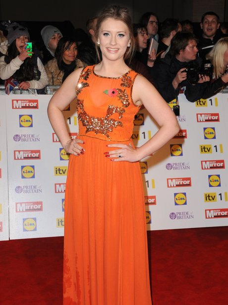 Ella Henderson arriving at The Pride of Britain Awards