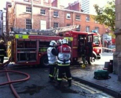 Manchester City Centre Fire
