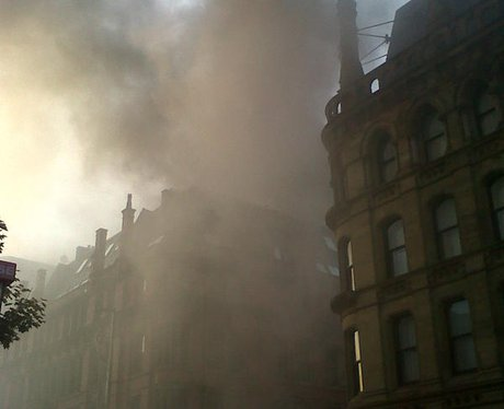Manchester bakery fire