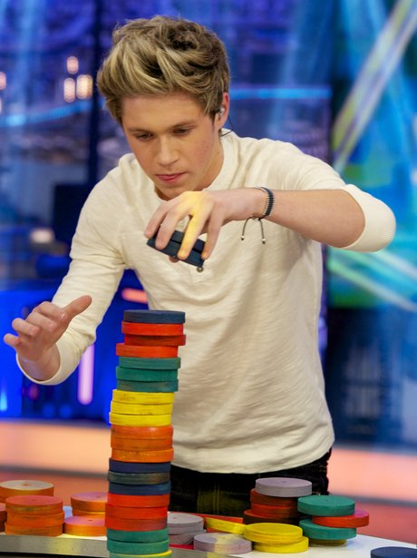 Nial Horan on 'El Hormiguero' Tv show at Vertice S