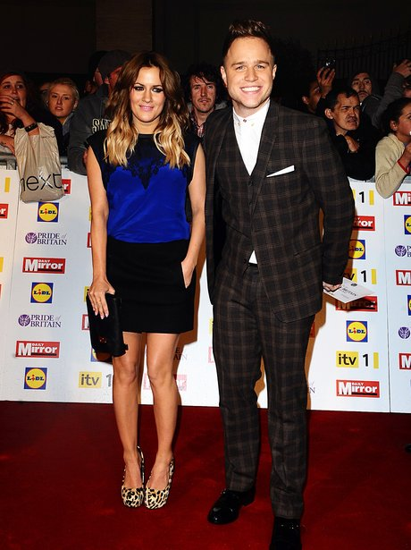 Caroline Flack and Olly Murs at the Pride Of Britain Awards