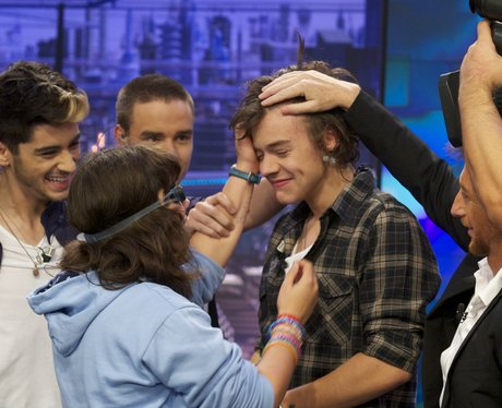 One Direction attend 'El Hormiguero' Tv show at Ve