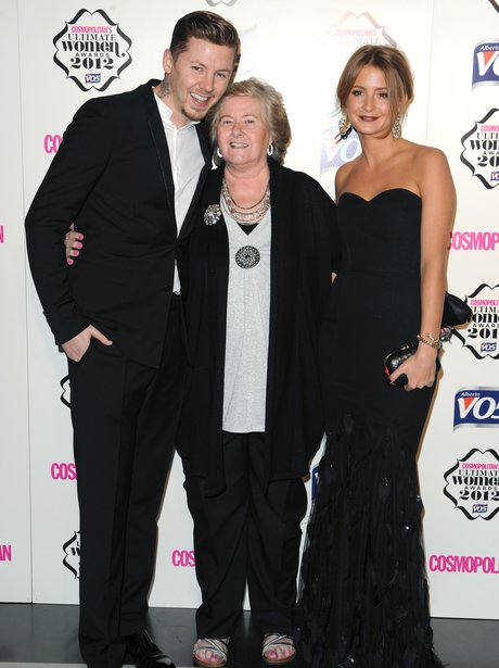 Professor Green attends an even with his grandma