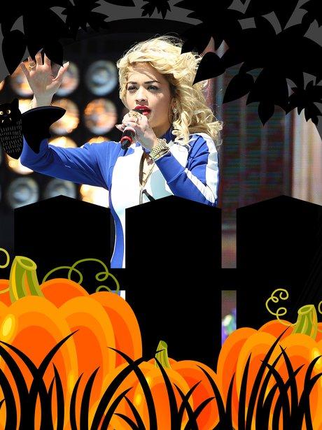 Rita Ora Hallowen