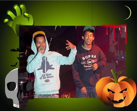 Rizzle Kicks Halloween