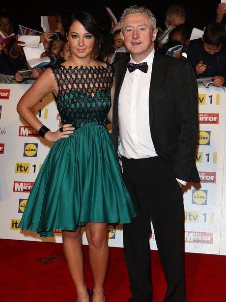 Tulisa and Louis Walsh at the Pride Of Britain Awards.