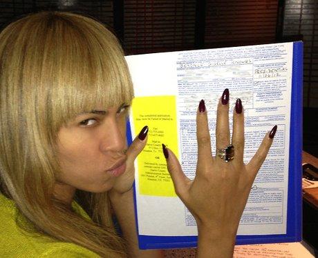 Beyonce voting for Barack Obama