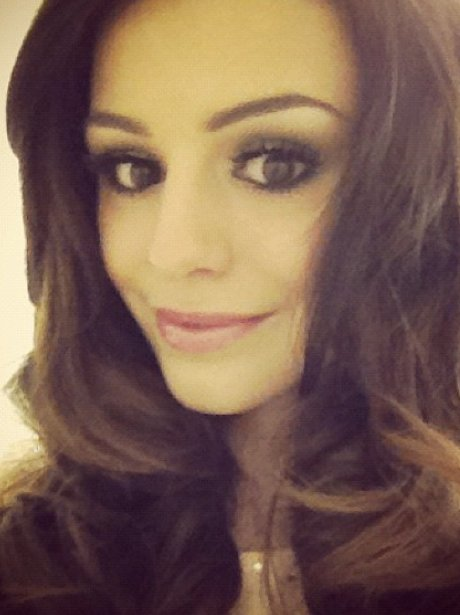 Cher Lloyd poses on twitter
