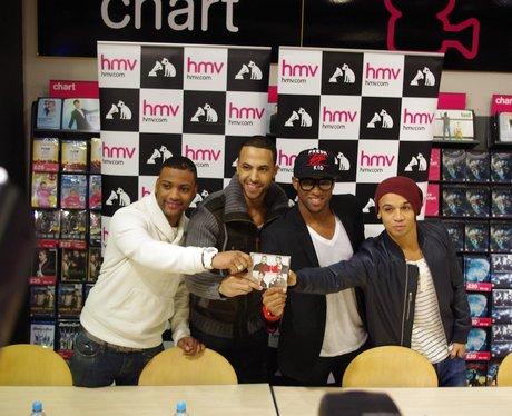 JLS Signing at HMV - The Fort