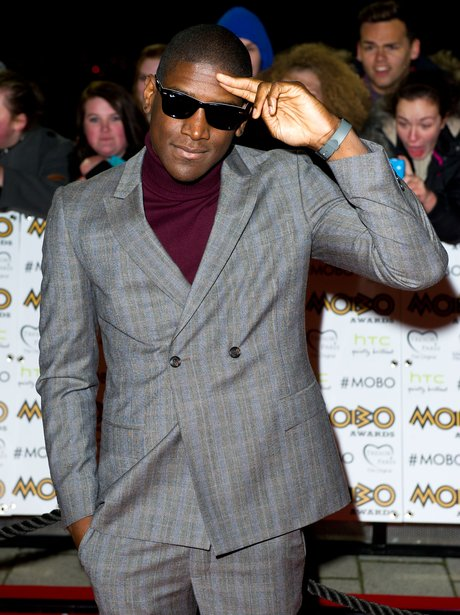 Labrinth at the MOBO Awards 2012