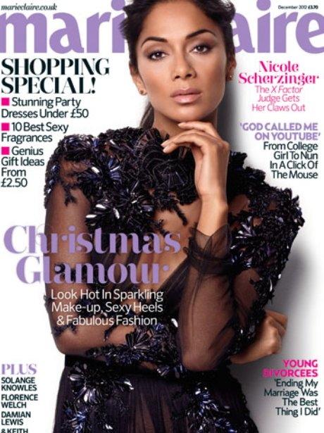 Nicole Scherzinger in the new issue of Marie Claire