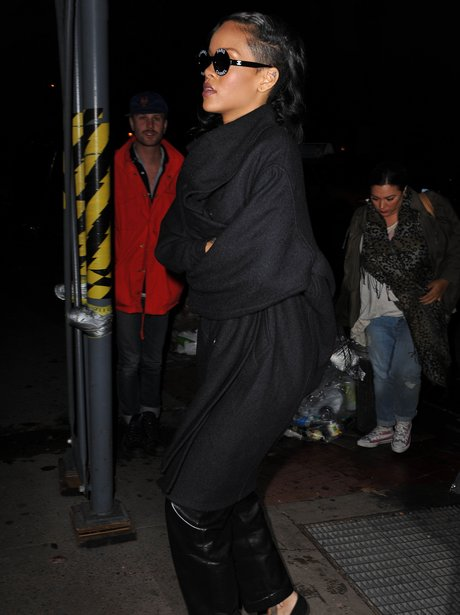 Rihanna out for dinner in New York