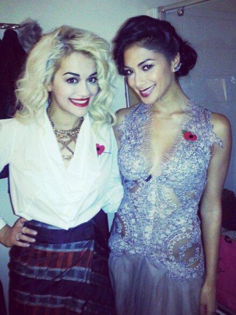 Rita Ora and Nicole Scherzinger