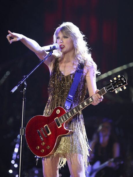 Taylor Swift live on stage
