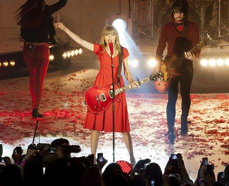 Taylor Swift at Westfield Shepherd's Bush