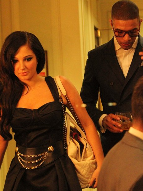 Tulisa and Fazer at the Music Industry Trusts Awards