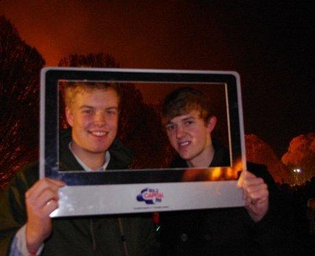Winchester Fireworks 2012