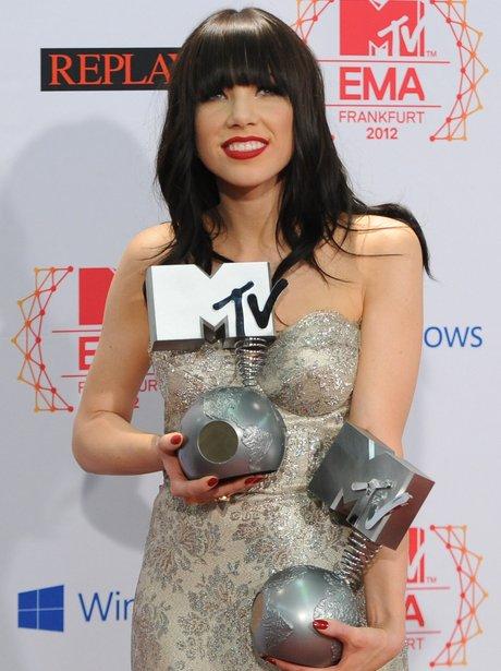 Carly Rae JepsMTV Europe Music Awards (EMA) 2012