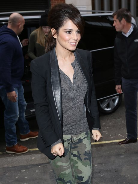 Cheryl Cole pictured in London