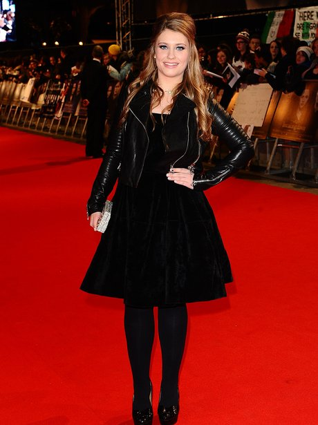 Ella Henderson on the red carpet for Breaking Dawn Part Two