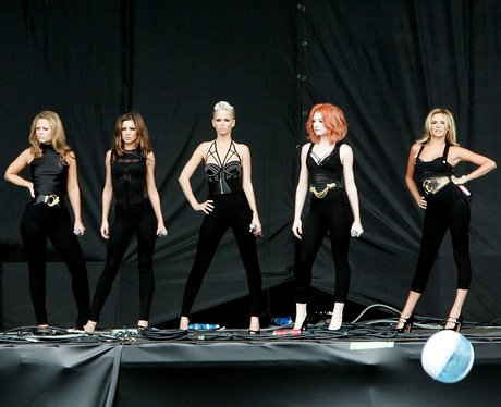 Girls Aloud live on stage
