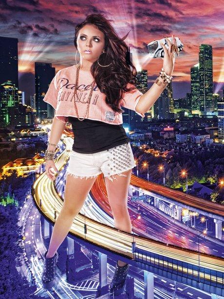 Jesy Nelson in We Love Pop Magazine