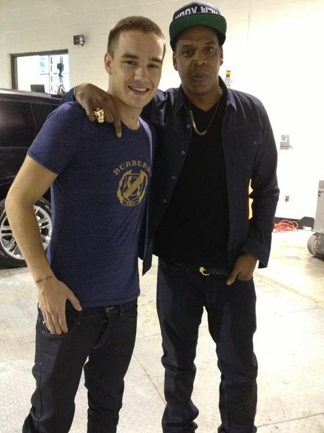 Liam Payne and Jay-Z together