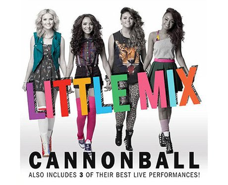 Little Mix's 'Cannonball' single cover