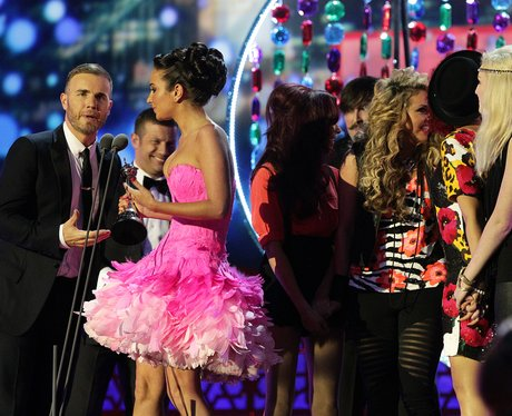 Little Mix at the National Television Awards 2012