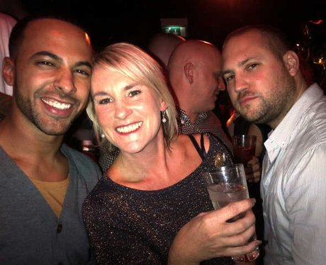 Marvin With Rochelle's Mum clubbing