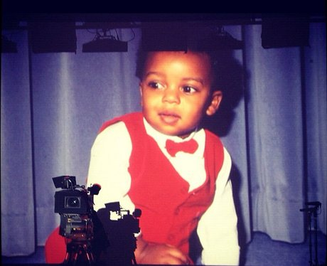 Oritse Williams baby picture
