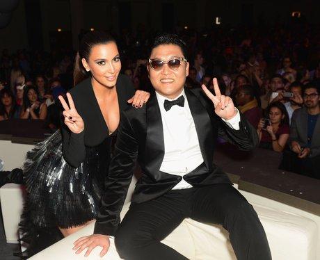 Kim Kardashian and PSY MTV EMA's 2012