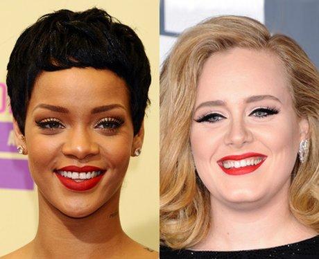 Rihanna and Adele