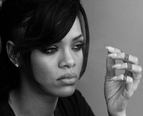 Rihanna staring