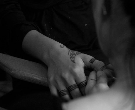 Rihanna henna tattoo