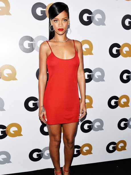 Rihanna arrives at the GQ Men of the Year Party 20