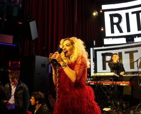 Rita Ora performs live in Paris