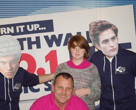 Capital FM's 'Edward' & 'Jacob' in Odeon Cardiff