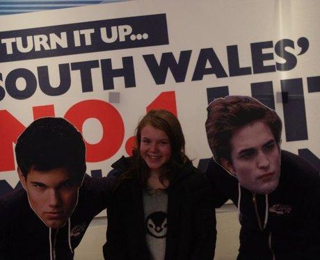 Capital FM's 'Edward' & 'Jacob' in Odeon Cardiff