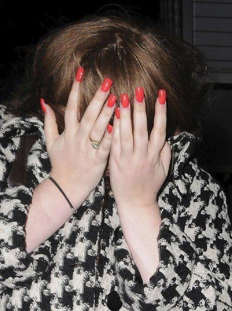 Adele Hiding