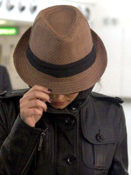 Cheryl Cole Hiding