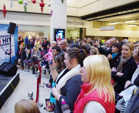 Eldon Square Christmas Lights Switch On
