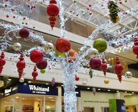 Eldon Square Christmas Lights Switch On