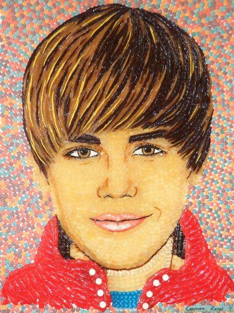 Justin Bieber sweet portrait