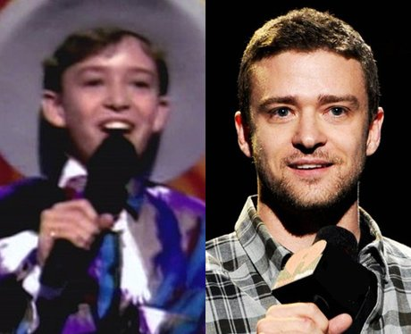 Justin Timberlake before he was famous - childhood baby picture