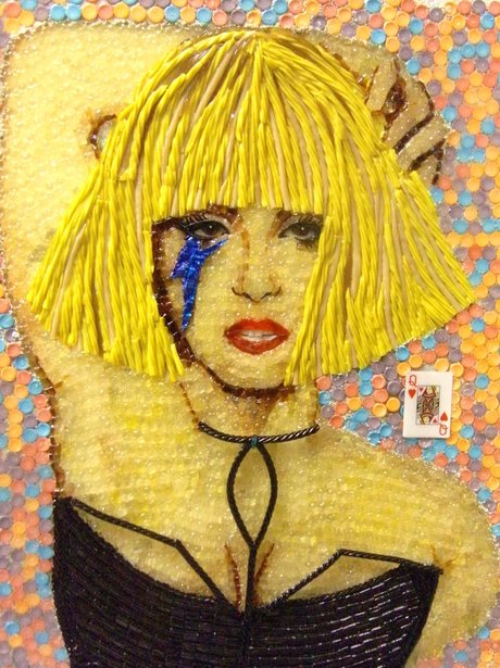 Lady Gaga sweet portrait