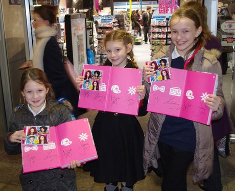 Littlemix Signing at HMV The Fort Shopping Park