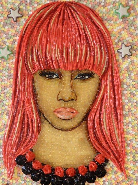 Nicki Minaj sweet portrait