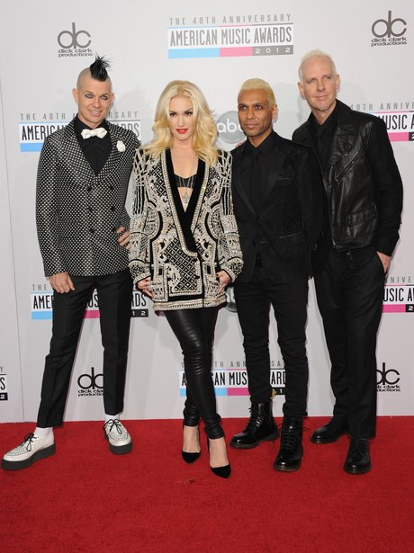No Doubt arrive at the American Music Awards 2012